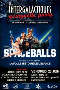 """Lire la noisette """"Les Intergalactiques : Guinguette Party - Soutien à Temps-Livres"""""""